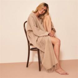 Poncho laine  3/4 98 cm...